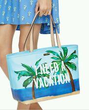 Kate Spade Breath of Fresh Air I  Need A Vacation Francis Tote NWT