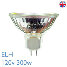 ELH 120v 300w GY5.3 Unbranded BRAND NEW Enlarger Projector Bulb Lamp ELH