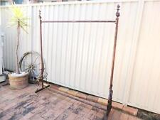 Iron Clothes Rack Dress Rail Display Free Standing Home Fashion Shop DRS003-CPR