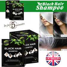 Sevich BLACK HAIR SHAMPOO Colourant FAST DYE Color Plant Treatment - 25ml/pack