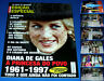 LADY DIANA, DIANA DE GALES 1961-1997, 18-page magazine, in portuguese, LADY D