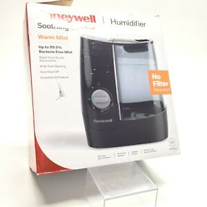 Honeywell Home - 1 Gal. Warm Mist Humidifier - Black! Open Box! TESTED!