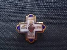 Vtg RARE Enamel Badge Pin Przyjuz Kro Lestwo Twoje - Polish Your Kingdom Come