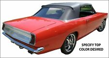PLYMOUTH BARRACUDA CONVERTIBLE TOP DO-IT-YOURSELF PACKAGE 1967-1969