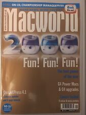 The Apple iMac Cover - MacWorld Magazine - First Year 2000 Issue