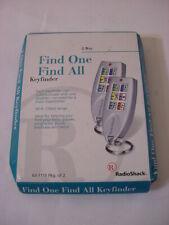 NEW - FIND ONE FIND ALL KEYFINDER RADIO SHACK 63-1155 PKG OF 2