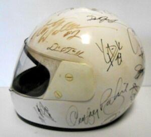 Rusty Wallace Jeff Gordon Dale Earnhardt Jr Signed Autographed Racing Helmet