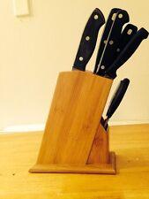 Bamboo Knife Holder (knife Not Included)