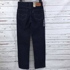Levi's 550 Men's Jeans Relaxed Tapered Leg Navy Blue Size 30 X 34 New