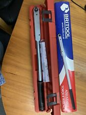 """Britool Adjustable Torque Wrench EVT1200a 1/2"""" Inch 25-135NM Professional Qualit"""