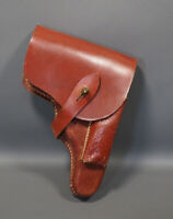 WWII German Wehrmacht Officer's Walther PP PPK Pistol Gun Leather Holster Marked