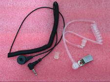 3.5mm Listen Only Transparent Acoustic Earpiece for ICOM Kenwood Motorola Radio