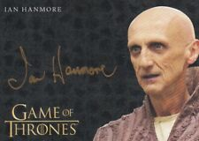 Game of Thrones Season 8 Gold Autograph Card signed by Ian Hanmore