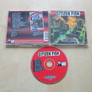 CITIZEN FISH Life Size - CD album Culture Shock Subhumans (CD 1771)