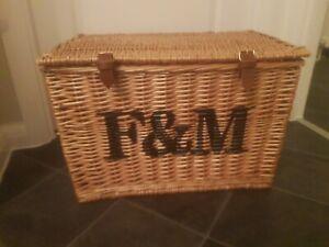 Fortum and Mason Large Hamper Basket