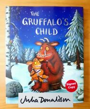 SIGNED 1ST EDITION of THE GRUFFALO'S CHILD. JULIA DONALDSON & SCHEFFLER. FIRST.