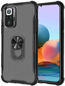 Xiaomi Redmi Note 10 Pro - Case Resistant Shockproof With Ring Anti-drop