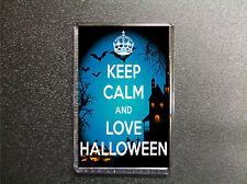 KEEP CALM AND LOVE HALLOWEEN FRIDGE MAGNET GIFT