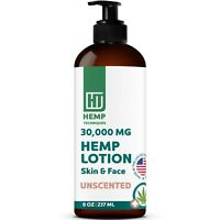 Organic Hemp Infused Body Lotion For Pain Relief Hemp Lotion Natural 8 OZ