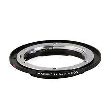 K&F Concept Nikon AI AI-S F Lens to Canon EOS EF adapter 60D 500D 350D Rebel