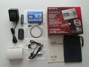 SONY WALKMAN MINIDISC MD PLAYER / RECORDER MZ-R50 MINI DISCNEW IN BOX THE BEST