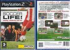 GIOCO PLAY STATION  2 - SOCCER LIFE! MONEY,CELEBRITY AND FUN - NUOVO SIGILLATO