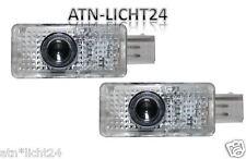 2x LED SMD Xenon Modul Prejektor Laser  Einstiegsbeleuchtung Skoda Superb
