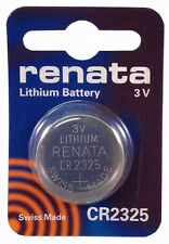 Renata CR2325 DL2325 BR 2325  Coin Cell Watch Battery