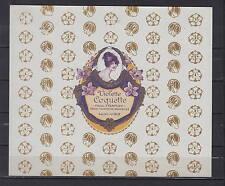 Ancienne étiquette Savon Violette Coquette  Femme   dimensions 18   cm x 15 cm