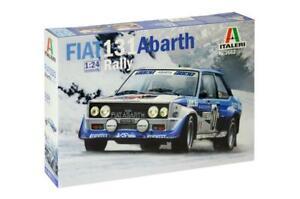 Italeri 3662 Fiat 131 Abarth Rally 1:24 Scale Model Kit