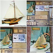 ⭐ Billing Boats Denmark Hoogaars Antique Dutch Flat-Bottomed Sailboat Wooden Kit