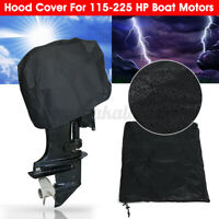 Outboard Boat Motor Engine Hood Cover Vented Waterproof For 115-225 HP Boat < τ