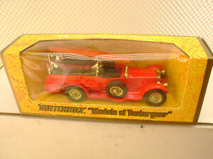 1977 MATCHBOX LESNEY MODELS OF YESTERYEAR Y-6 1920 ROLLS ROYCE FIRE ENGINE NEW