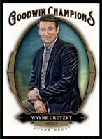 2020 Goodwin Champions Blank Back Wayne Gretzky