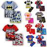 Jungen Mädchen Kinder Batman Superman Outfit Set Kombinationen T-shirt + Shorts