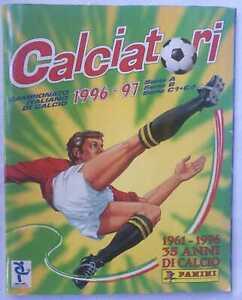 ALBUM CALCIATORI PANINI 1996 1997 96/97 - 603 FIGURINE SU 638 - COMPLETO AL 95%