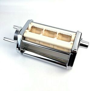 Made in Italy Ravioli Pasta Maker Stainless Steel Attachment
