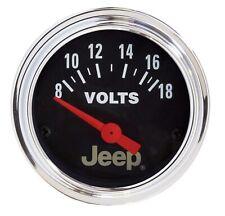 Auto Meter 880242 fits Jeep Electric Voltmeter Gauge