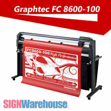 "NEW Graphtec FC8600-100 42"" Vinyl Cutter Stand Plotter Machine Decal Kit Bundle"