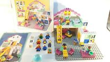 Vintage Lego Duplo Dacta 9169 House - 1994 with box and extra figures *RARE*