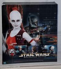 "Star Wars Masterpiece Edition AURRA SING 12""  Figure & Book Set Hasbro 2000 New"