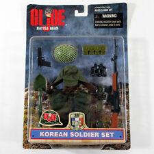 1999 Hasbro GI Joe Battle Gear Korean Soldier Set 35 Years Accessories Pack NIP