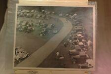 1950-60 8x10 Photo New Jersey SRA Hot Rod Meet Big Bud's Lots of Rods