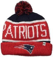 New England Patriots 47 Brand Calgary Cuff Knit Hat