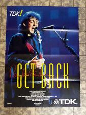 PAUL McCARTNEY * GET BACK - A1-FILMPOSTER - German 1-Sheet - BEATLES ´90 DOKU