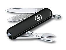 VICTORINOX Classic Schwarz NEU Schweizer Taschenmesser Messer + Etui Swiss Knife