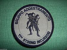 PATCH AERONAUTICA MILITARE - 17° STORMO INCURSORI  GRUPPO ADDESTRAMENTO - DESERT