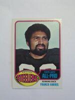 1976 TOPPS FOOTBALL FRANCO HARRIS ALL-PRO #100 NM-MT OR BETTER SET BREAK FTR3T1
