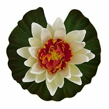 Tetra Artificial Lotus Flower Floating Water Pond Faux Lily Pad COLORS WILL VARY