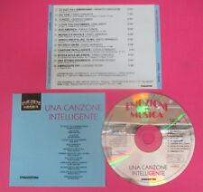 CD Compilation Una Canzone Intelligente GIORGIO GABER PAOLO CONTE no lp mc(C44)